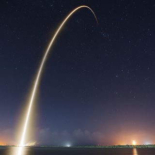Public domain, Photo by SpaceX via flickr