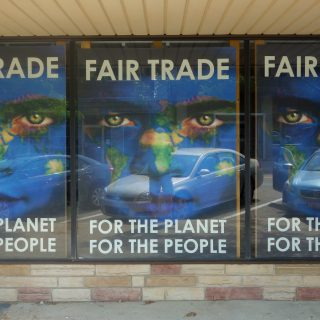 Sustainability poster - Fair trade