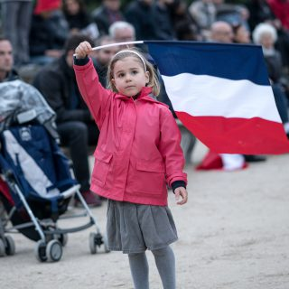 French Election: Celebrations at The Louvre, Paris
