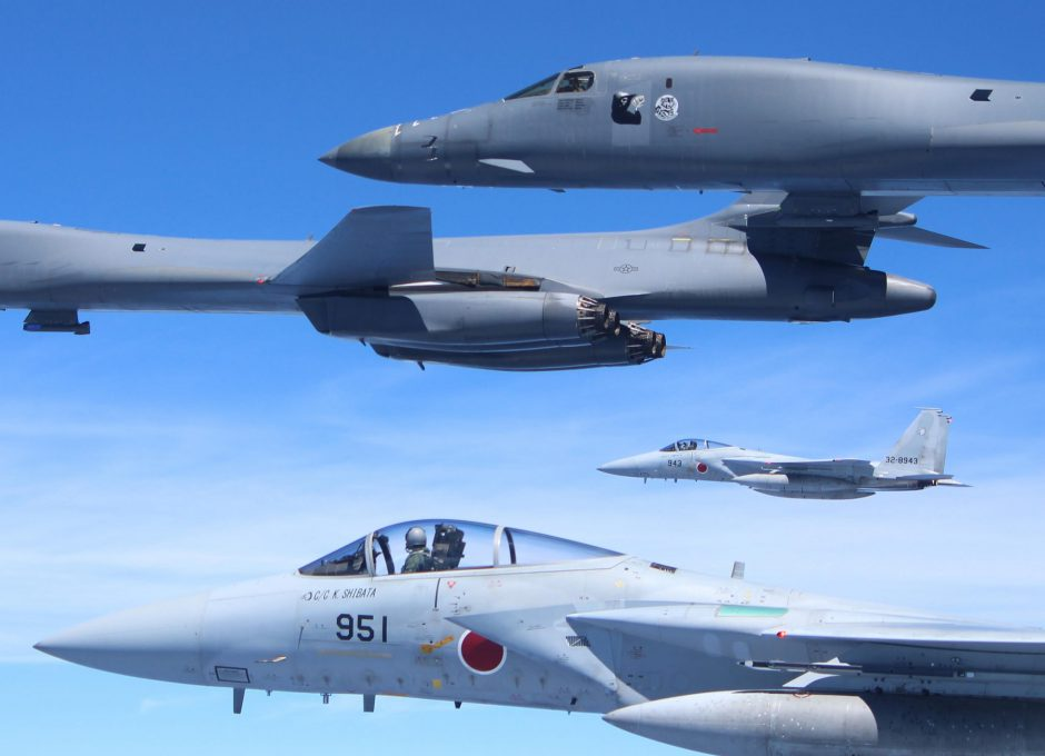 US Air Force and Japan Air Self-Defence Force