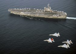 U.S. Navy and Japan Air Self-Defense Force